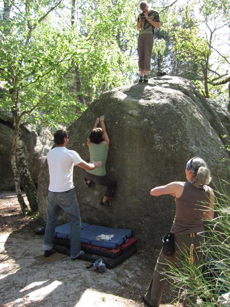 Kletterreise Fontainebleau Gallerie 2