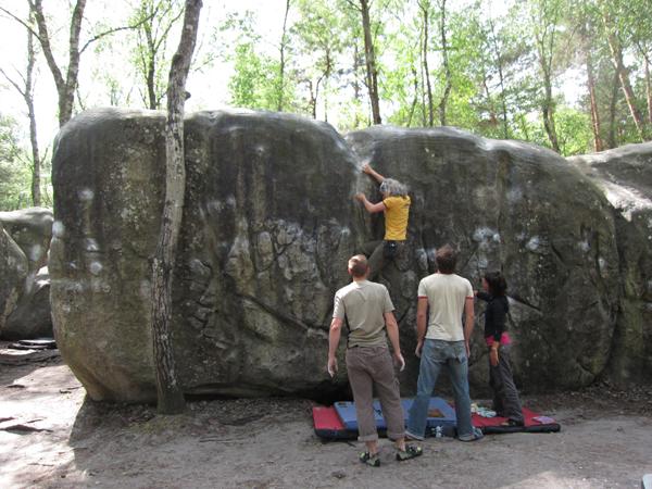 Kletterreise Fontainebleau Gallerie 4